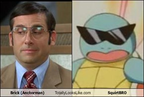 Brick (Anchorman) Totally Looks Like SquirtBRO