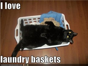 I love  laundry baskets