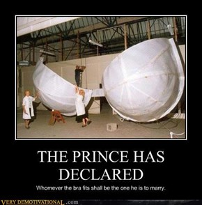 THE PRINCE HAS DECLARED