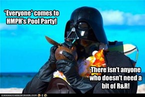 The dark side doesn't have Mai Tai's!
