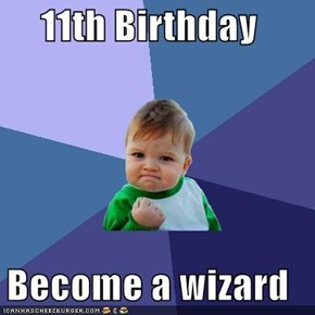 11th Birthday  Become a wizard