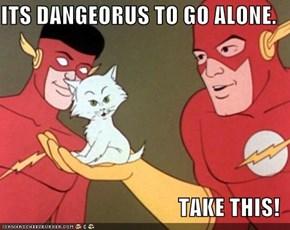 Kid Flash Is Link?