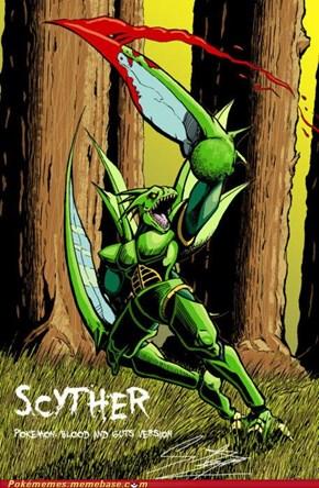 Damn Scyther, You Scary