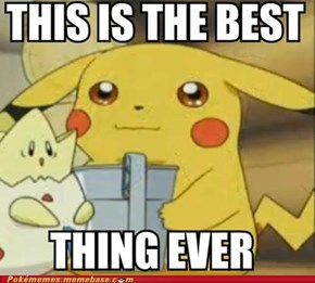 I Wish Pikachu Was Holding a Gameboy