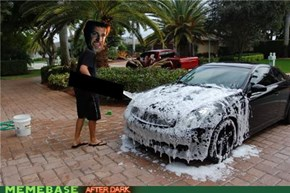 Every Time I Wash My Car I.....