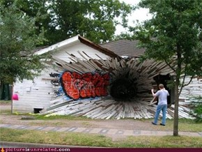 Dammit a Blackhole Opened in My House...