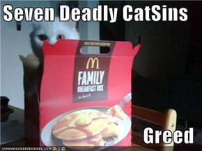 Seven Deadly CatSins  Greed