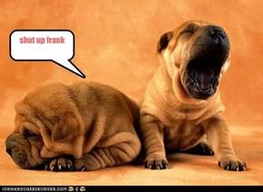 shut up frank
