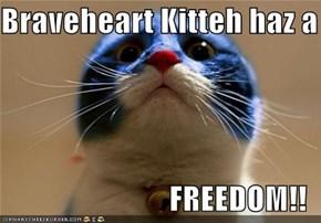 Braveheart Kitteh