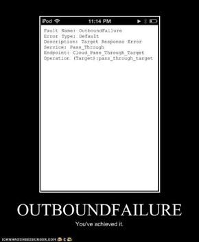 OUTBOUNDFAILURE