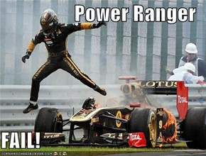 Power Ranger  FAIL!