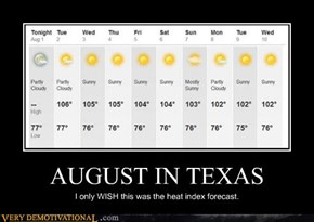 AUGUST IN TEXAS