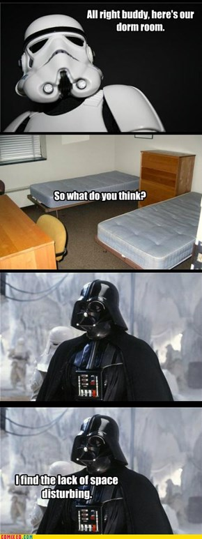 You Can't Please Darth