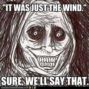 """IT WAS JUST THE WIND."""