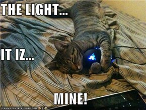 THE LIGHT... IT IZ... MINE!