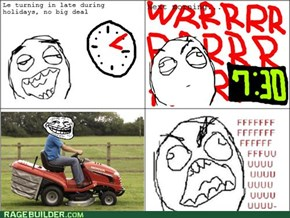 Lawnmower Rage