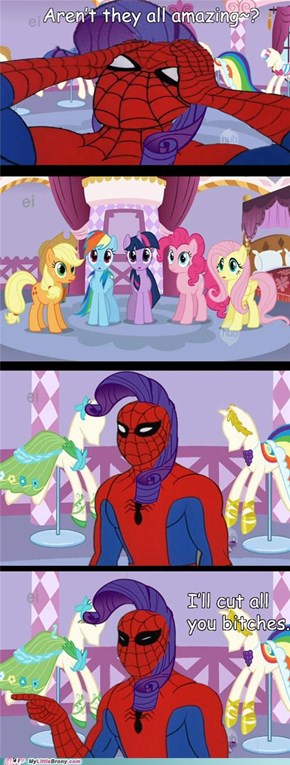 Spider-Rarity Doesn't Approve of Silence