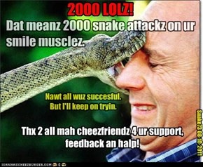 Teh 2000th Snake Attack