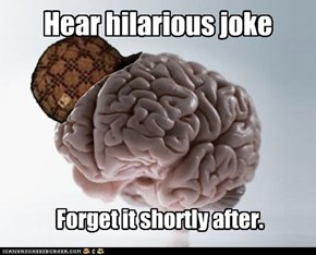 Hear hilarious joke