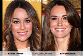 Lauren Conrad Totally Looks Like Kate Middleton
