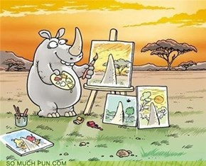 Poor Rhino...
