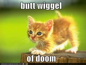 butt wiggel of doom..  will have to do till we can post old lols here