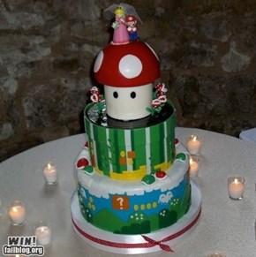 Mario Cake WIN