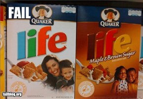 Racist Cereal Fail