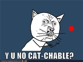 Y U NO CAT-CHABLE?