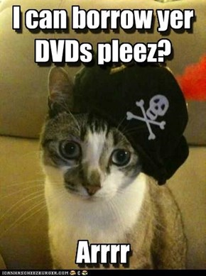 Pirate is serious!
