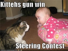 Kittehs gun win  Steering Contest