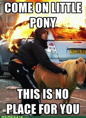 My Little Pony Is On FIRE