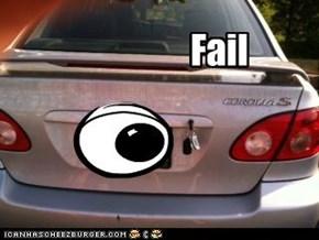 Theft protection fail
