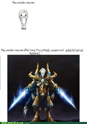 How people view additional pylons