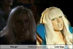 This girl Totally Looks Like Lady Gaga