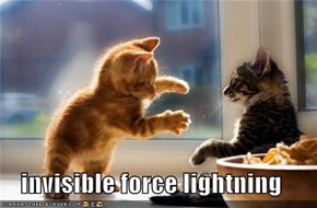 invisible force lightning