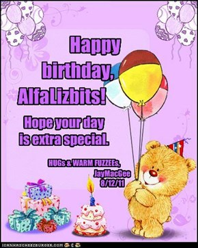Happy birthday, AlfaLizbits!