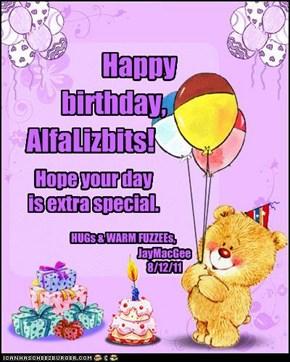 Happy birthday, AlfaLizbits!