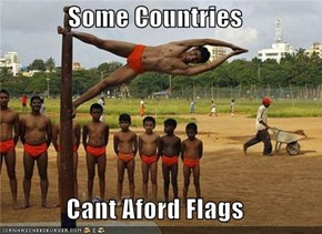 Some Countries  Cant Aford Flags