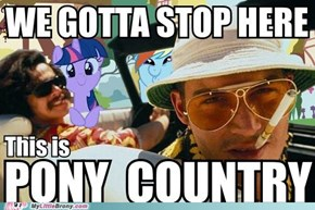 This Here Be Pony Country