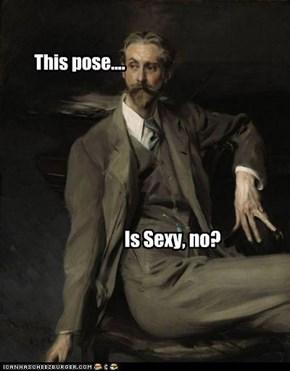This pose....