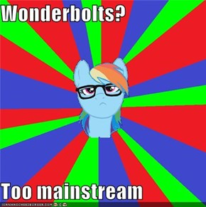 Wonderbolts?  Too mainstream