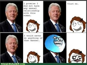 Clinton lied?