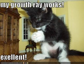my growth ray works!  exellent!