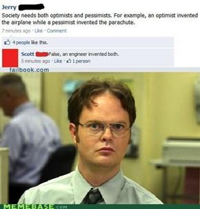 Dwight has a facebook?