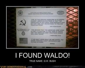 I FOUND WALDO!
