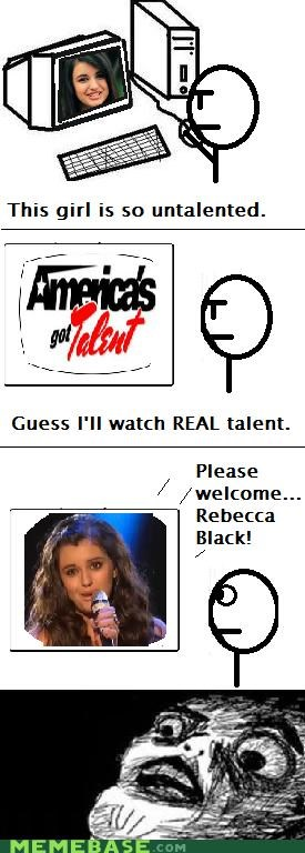 I guess America has no talent.