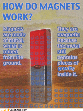 TIL how magnets work