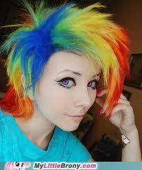 rainbow dash IRL