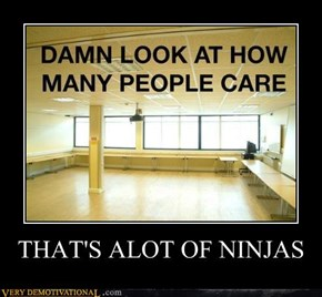 THAT'S ALOT OF NINJAS